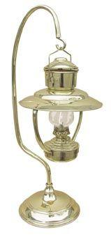 Tischlampe Schiffslampe 59cm Petroleum Messing Stehlampe