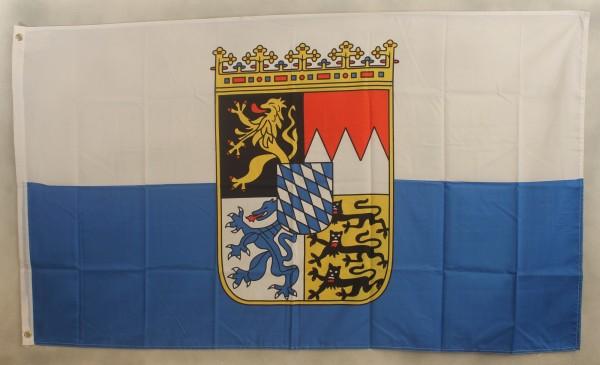 Flagge Fahne Bayern Dienstflagge bayerische Landesflagge Bayernflagge