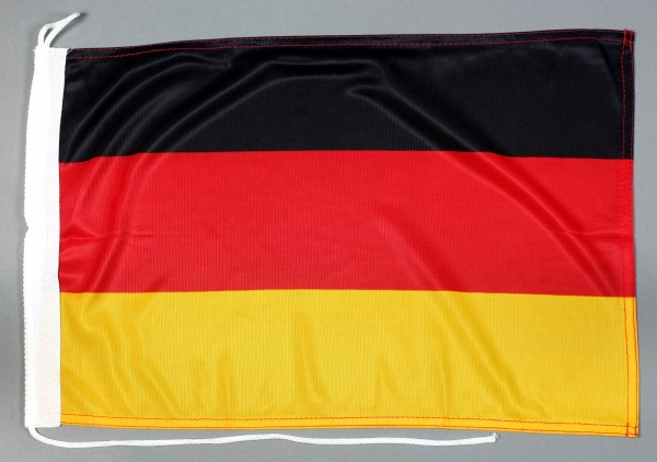 Bootsflagge Deutschland 30x45 cm Motorradflagge Bootsfahne