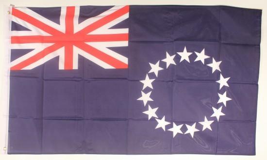 Flagge Fahne Cook Islands 90x60 cm