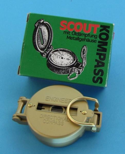 Herbertz Scout Kompass mit Metallgehäuse