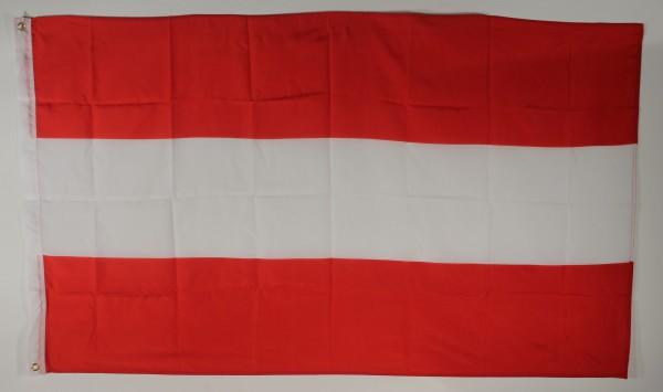 Flagge Fahne : Österreich ohne Wappen Österreichflagge Nationalflagge Nationalfahne