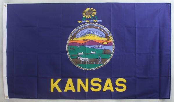Flagge Fahne : Kansas