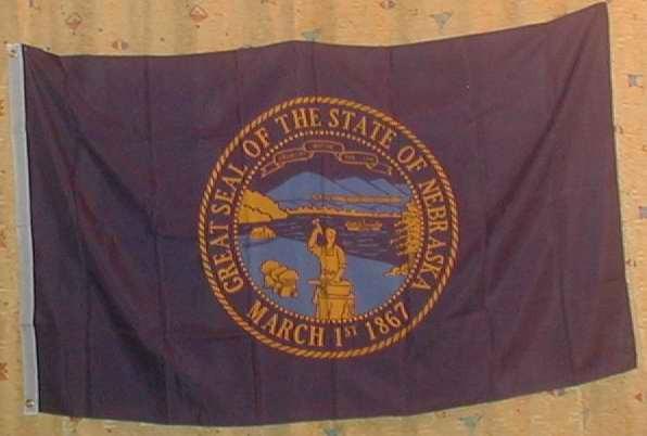 Flagge Fahne : Nebraska