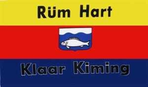 Flagge Fahne Rüm Hart Klaar Kimming Sylt