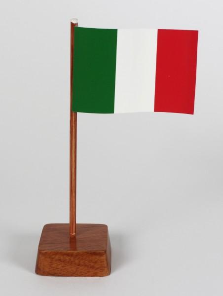 Mini Tischflagge Italien Höhe 13 cm Tischfähnchen