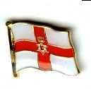 Pin Anstecker Flagge Fahne Nord Irland Nordirland Ulster