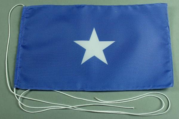 Tischflagge Somalia 25x15 cm optional mit Holz- oder Chromständer Tischfahne Tischfähnchen
