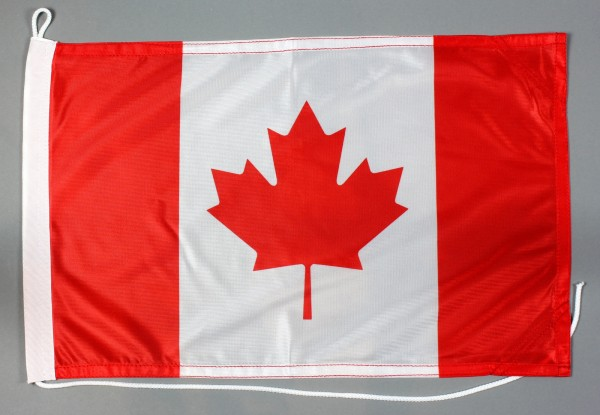 Bootsflagge Kanada 30x45 cm Motorradflagge Bootsfahne
