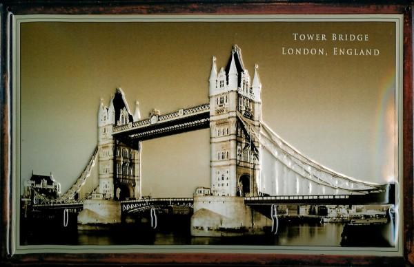 Blechschild Nostalgieschild Tower Bridge London England