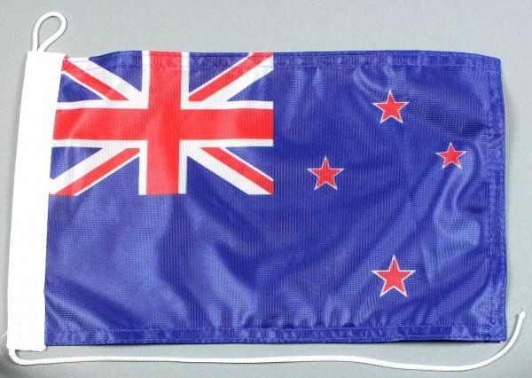 Bootsflagge : Neuseeland 30x20 cm Motorradflagge
