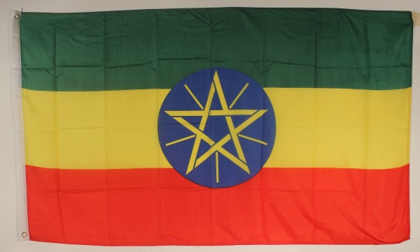 Flagge Fahne Äthiopien 90x60 cm