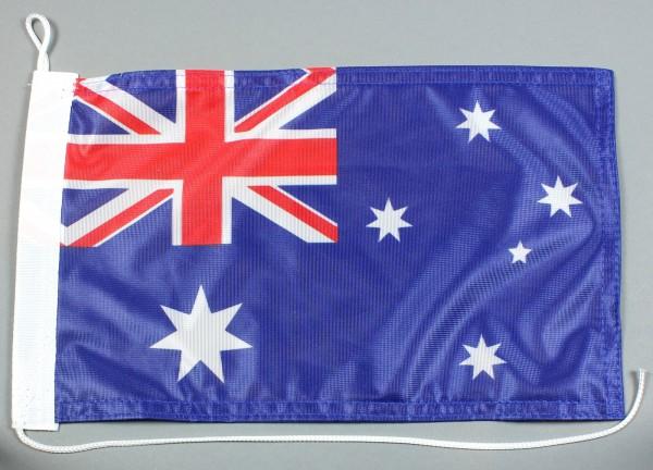 Bootsflagge : Australien 30x20 cm Motorradflagge
