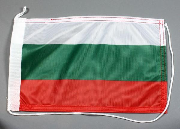 Bootsflagge : Bulgarien 30x20 cm Motorradflagge