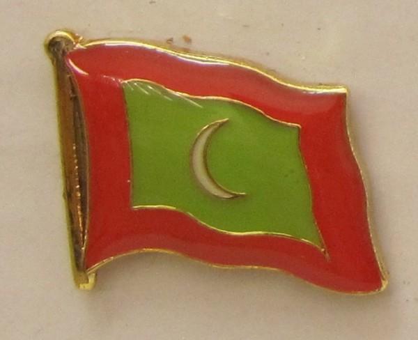 Malediven Flaggenpin Anstecker