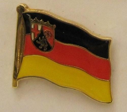 Pin Anstecker Flagge Fahne Rheinland-Pfalz