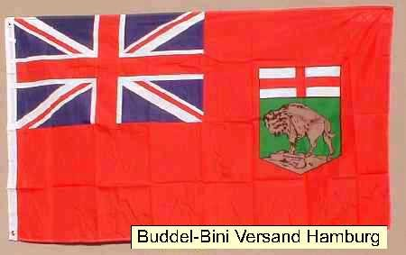 Flagge Fahne : Manitoba Kanada