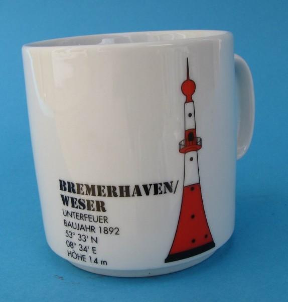 Leuchtturm Becher Bremerhaven Unterfeuer Nordsee