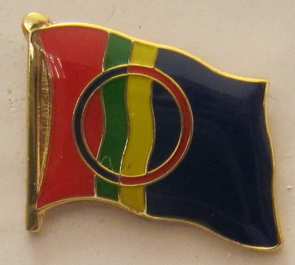 Pin Anstecker Flagge Fahne Lappland