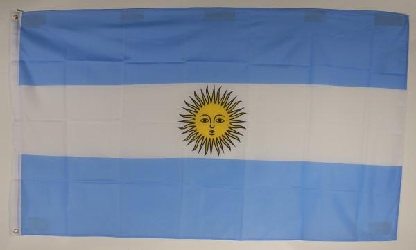 Flagge Fahne Argentinien 90x60 cm