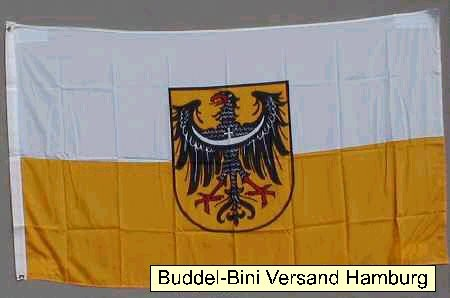 Flagge Fahne Niederschlesien 90x60 cm