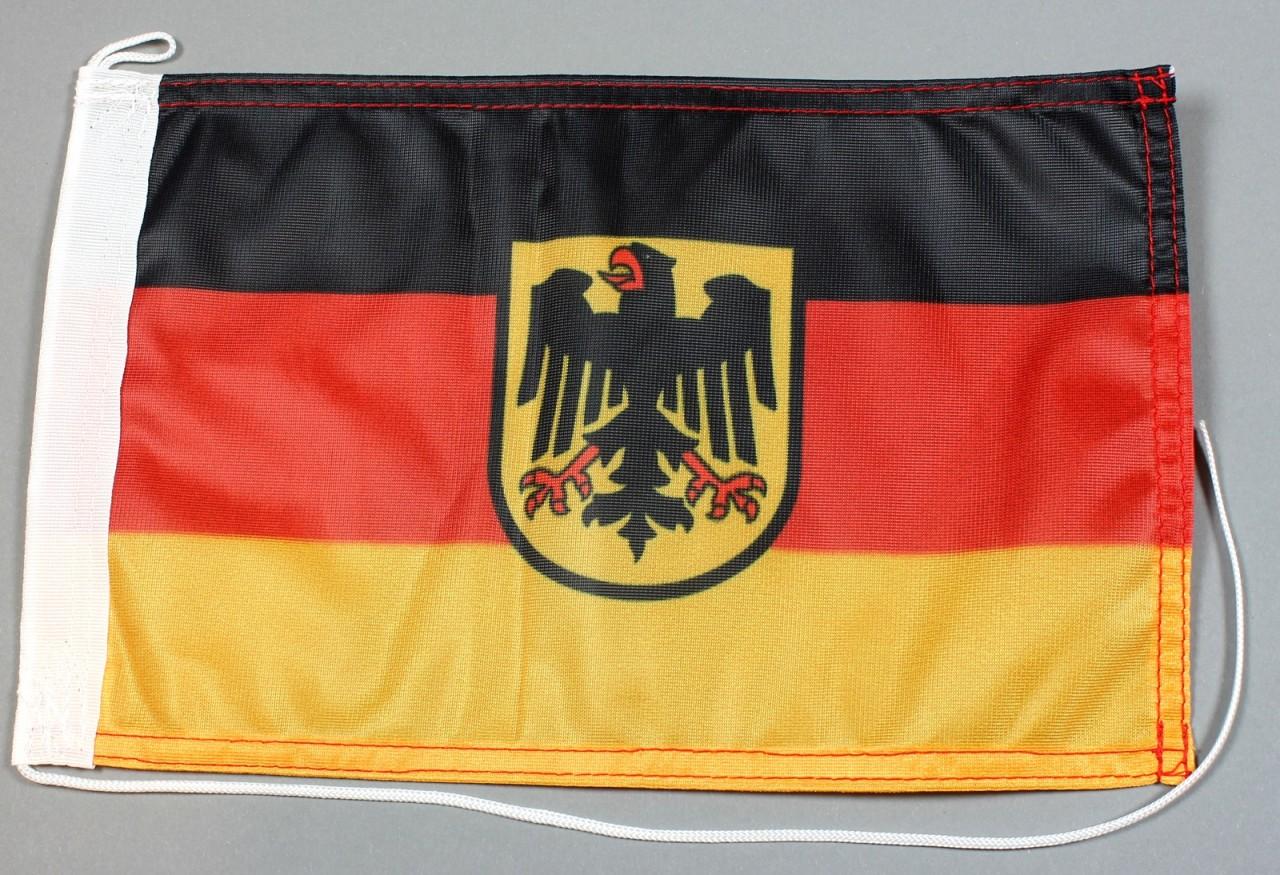 Bootsflagge Belgien 20 x 30 cm in Profiqualit/ät Flagge Motorradflagge