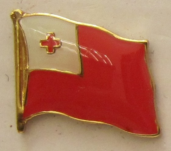 Tonga Pin Anstecker Flagge Fahne Nationalflagge