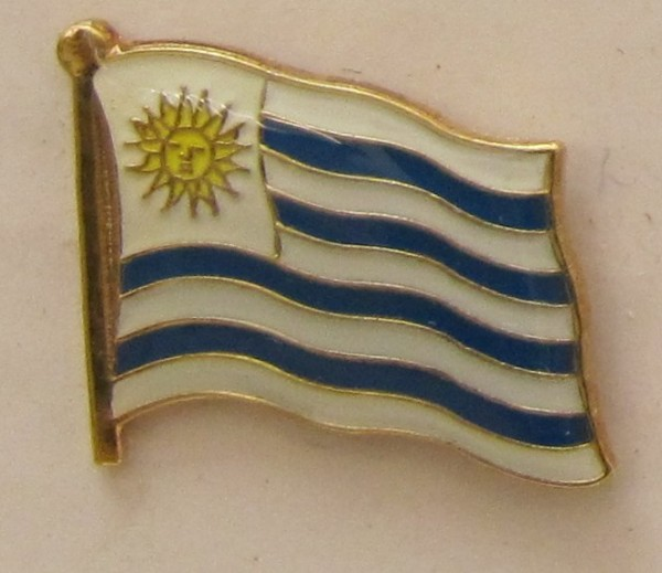 Uruguay Pin Anstecker Flagge Fahne Nationalflagge
