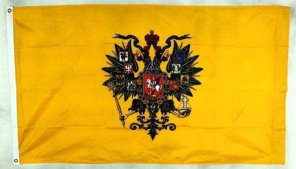 Flagge Fahne Russland Zar Standarte (1858-1917) 90x60 cm