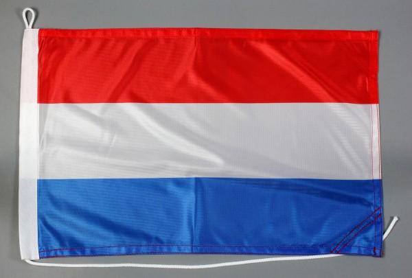 Bootsflagge Luxemburg 30x45 cm Motorradflagge Bootsfahne