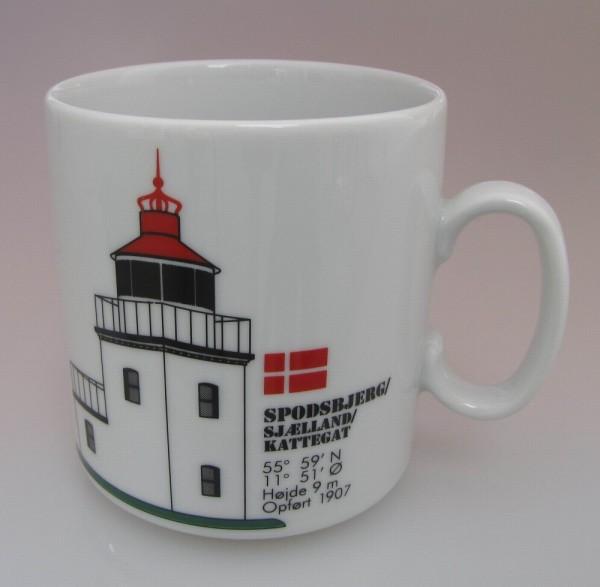 Leuchtturm Becher Spodsbjerg Daenemark