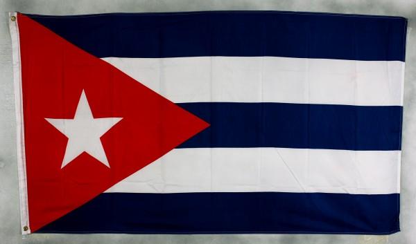 Kuba Flagge Großformat 250 x 150 cm wetterfest