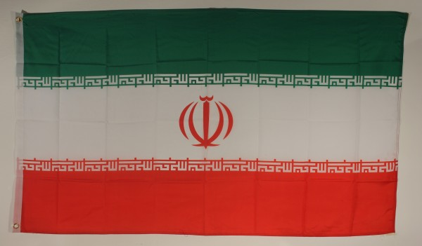 Flagge Fahne : Iran Nationalflagge Nationalfahne