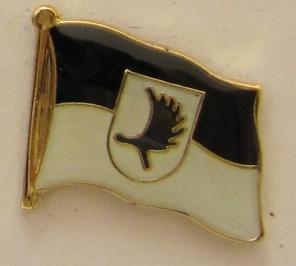 Pin Anstecker Flagge Fahne Ostpreussen Landsmannschaft Elchschaufel