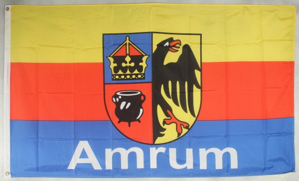 Flagge Fahne Amrum Nordsee Amrumflagge