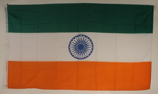 Flagge Fahne : Indien Nationalflagge Nationalfahne