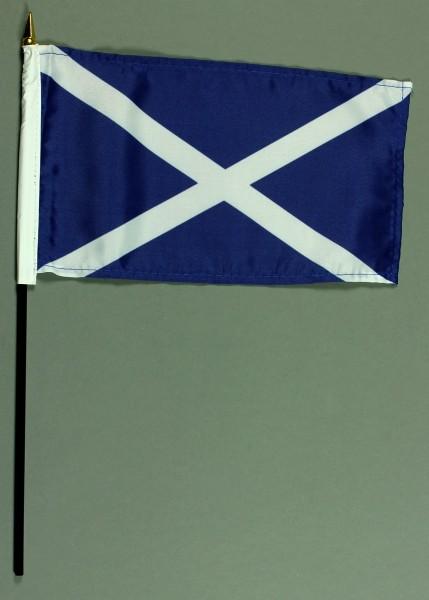 Tischflagge Schottland 15x25 cm BASIC optional mit Tischflaggenständer