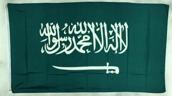 Flagge Fahne : Saudi Arabien Nationalflagge Nationalfahne