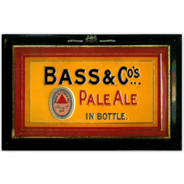 Blechschild Bass & Co. Pale Ale Biere Schild Bier Reklame Werbeschild Nostalgieschild