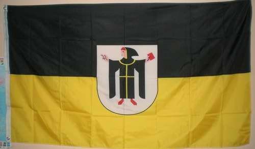Flagge Fahne München mit Wappen