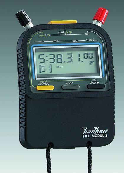 Modul 3 (1/100 Sekunde) digitale Stoppuhr