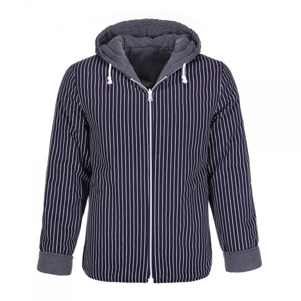 Wattierte Wendejacke Kapuzenjacke Baumwolle Jacke