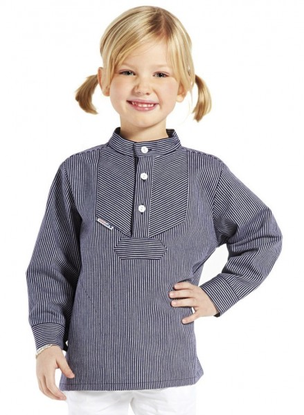 Kinder Fischerhemd schmalgestreift Kinderkleidung Hemd alle Größen original Modas Buscherump
