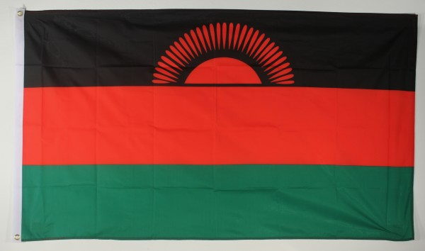 Flagge Fahne : Malawi Malawiflagge Nationalflagge Nationalfahne