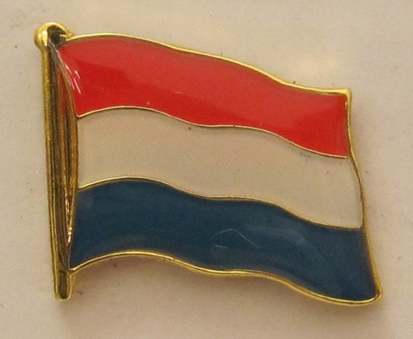 Pin Anstecker Flagge Fahne Niederlande Holland Nationalflagge