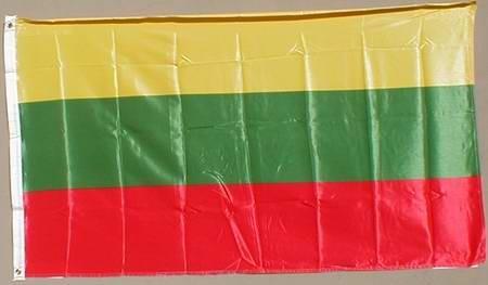 Flagge Fahne : Litauen Litauenflagge Nationalflagge Nationalfahne