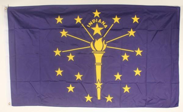 Flagge Fahne : Indiana