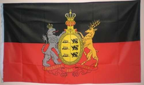 Flagge Fahne Königreich Württemberg