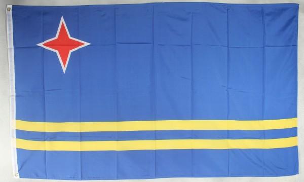 Flagge Fahne : Aruba Arubaflagge Nationalflagge Nationalfahne