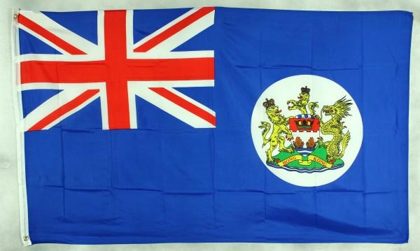 Flagge Fahne Hong Kong Hongkong vor 1997 90x60 cm
